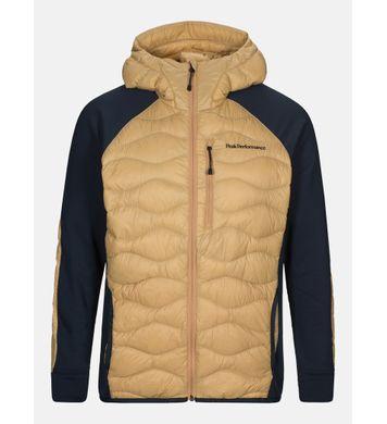 Peak Helium Hybrid Hood Jacket Beige