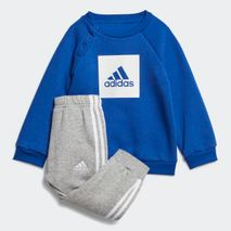 Adidas - 3-STRIPES FLEECE JOGGER SET blár