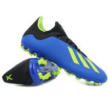 Adidas - takkaskór X 18.3 AG bláir/gulir