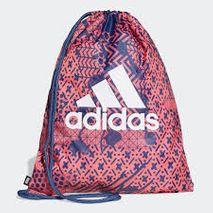 Adidas - sundpoki rauður/svartur