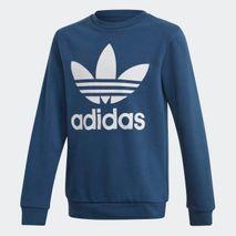 Adidas - peysa orginals blá án hettu