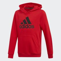 Adidas - Hettupeysa rauð