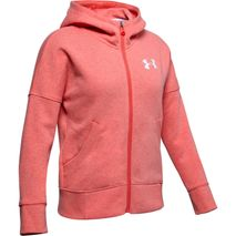 Under Armour - Rival Full Zip rauðbleik