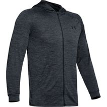 Under Armour - TECH 2.0 FZ HOODIE svört/grá yrjótt