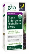 Black Elderberry Nighttime Syrup 3oz