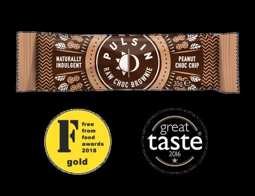 Pulsin Raw Choc Brownie bar 35g