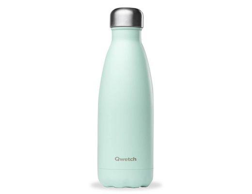 Qwetch drykkjarflaska heitt/kalt 500 ml. #Pastel græn hömruð