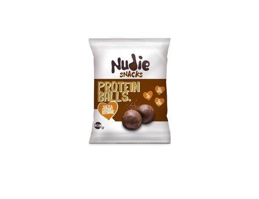 Nudie Protein Balls 42 gr. #Salted Caramel Brownie