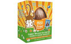 Moo Free mjólkurlaust páskaegg með appelsínubragði 110 gr.