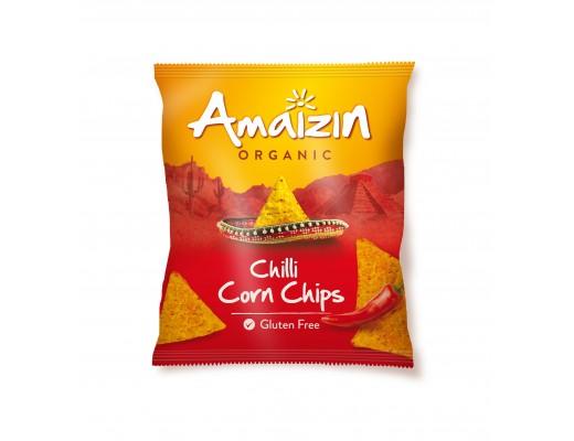 Amaizin Chili Cornchip lífrænt 75 gr.