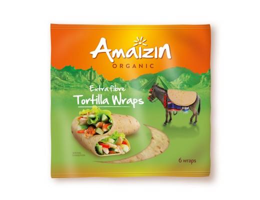 Amaizin Tortilla Wrap Fibre 6 stk.