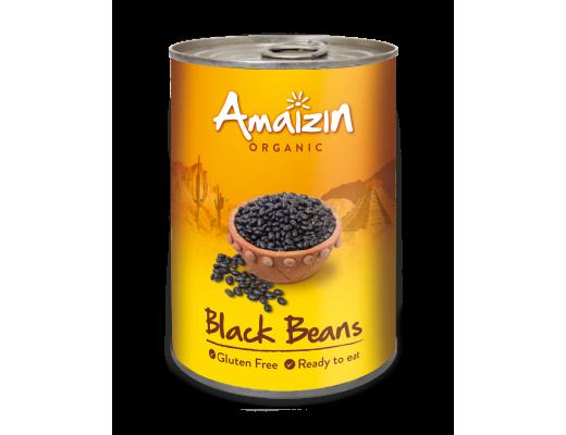 Amaizin Black beans lífrænt 400 gr.