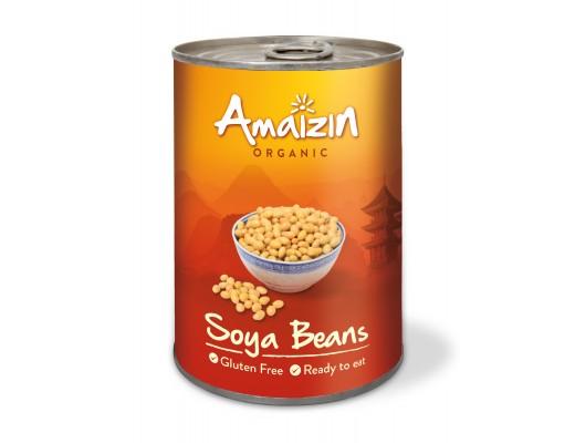 Amaizin Soya beans lífrænt 400 gr.