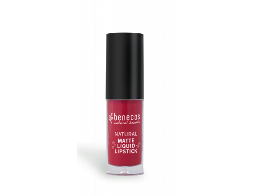 Benecos Natural Matte liquid lipstick #Blood berry