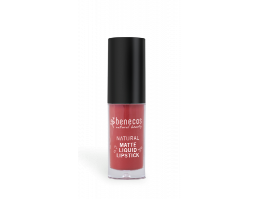 Benecos Natural Matte liquid lipstick #trust in rust