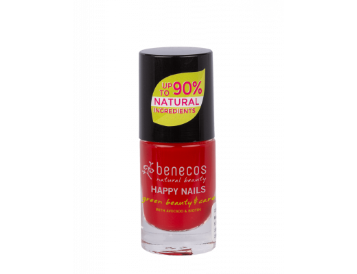 Benecos Nail Polish 5 ml.  #vintage red