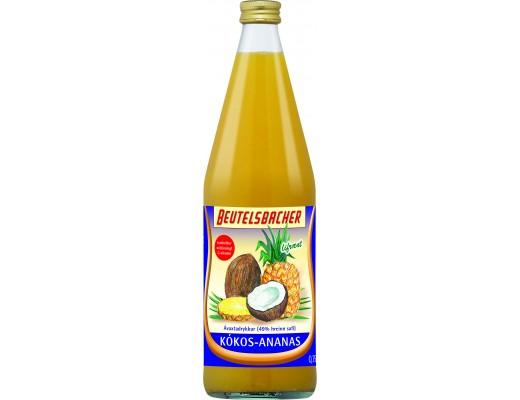 Beutelsbacher ananassafi 750 ml.