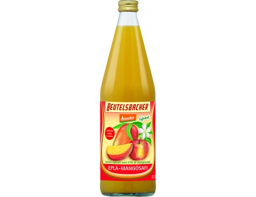 Beutelsbacher epla-og mangósafi 750 ml.
