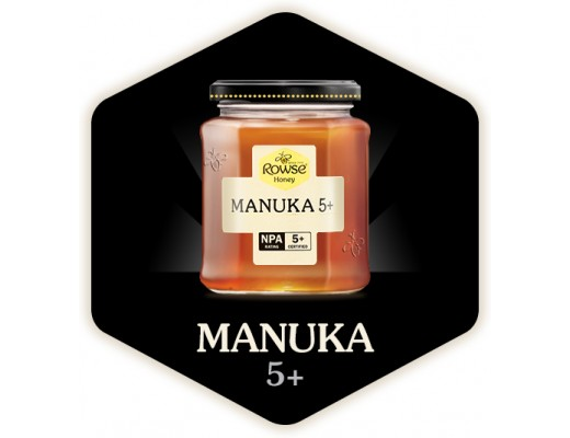 Rowse Manuka Active 5+  225 gr.