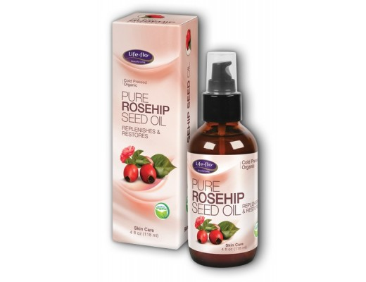 Life Flo Pure Rosehip Oil lífræn 30 ml.