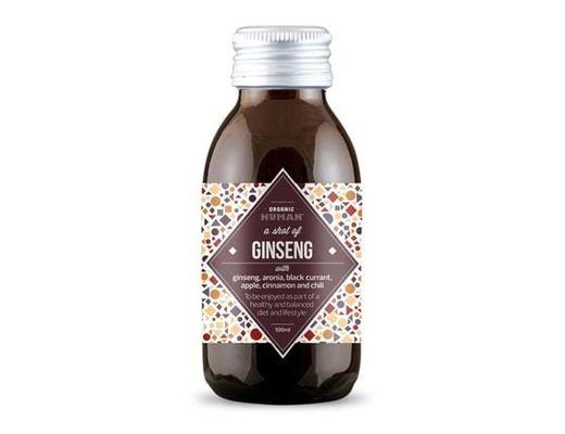 Organic Human skota af Ginseng 100 ml.