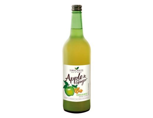 James White Organic epla & engifersafi 25 cl.
