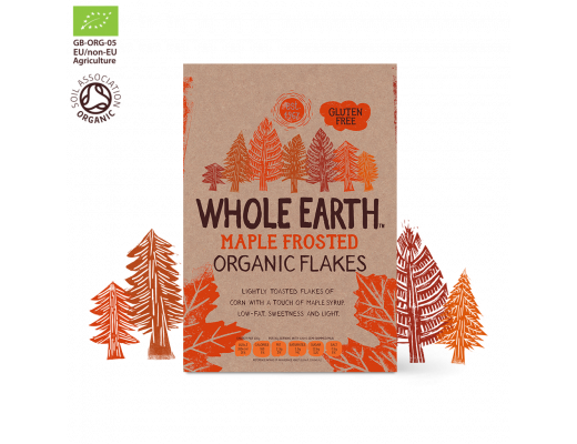Whole Earth Maple Frosted Flakes 375 gr.