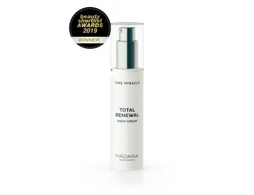 Mádara Time Miracle Total Renewal Night Cream 50 ml.