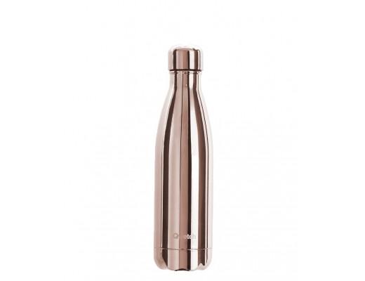 Qwetch drykkjarflaska 500 ml. heitt/kalt #Metal rose