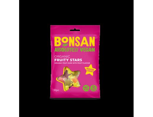 Bonsan Organic Fruity Stars hlaup 50 gr.