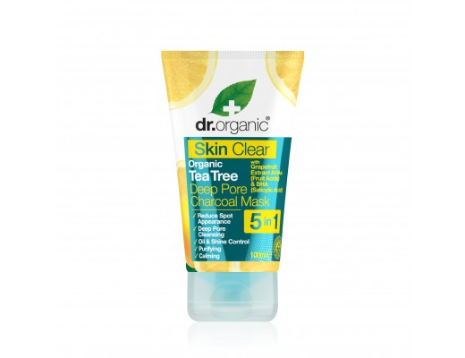 Dr. Organic Clear skin 5 in 1 Cleansing Mask 100 mll.