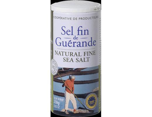 Gué Nature Salt fínt 250 gr.
