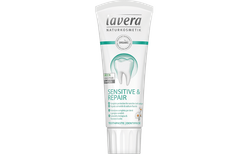 Lavera Sensetive & Repair tannkrem með flúor 75 ml.