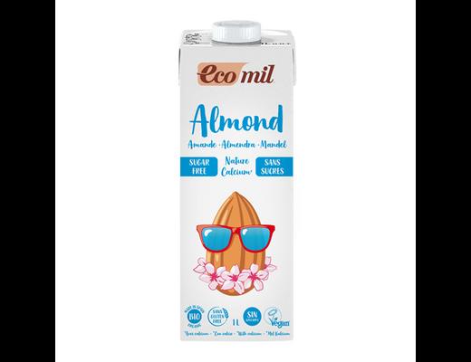 Ecomil Almond Nature Bio sykurlaus 1 líter