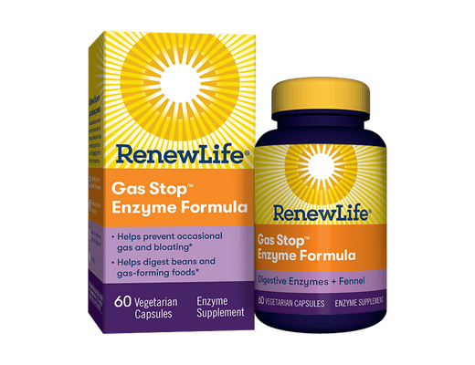 Renew Life Gas Stop Enzyme formula 60 hylki