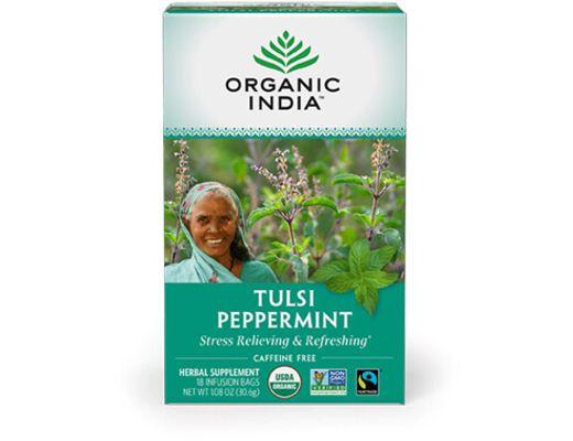 Organic India TULSI PEPPERMINT 25 tepokar