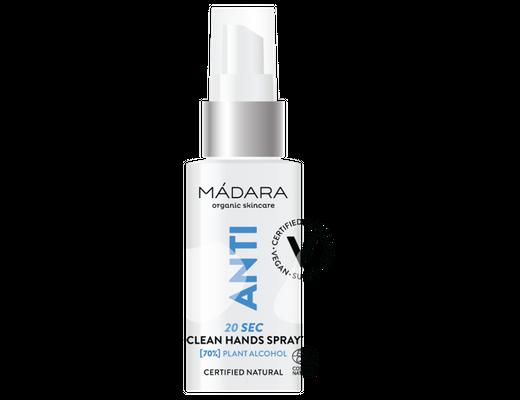 Mádara ANTI 20sec Clean Hands Spray 50 ml.