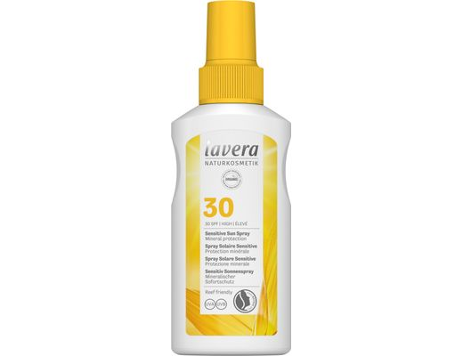 Lavera Sun Sensitive sólarvörn spray SPF30, 100 ml.
