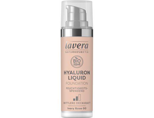 Lavera Hyaluron Liquid farði 30 ml. #00 Ivory Rose