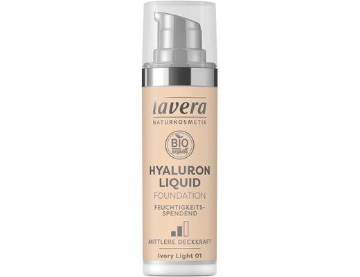 Lavera Hyaluron Liquid farði 30 ml. #01 Ivory Light