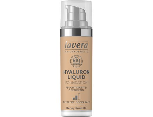 Lavera Hyaluron Liquid farði 30 ml. #03 Honey Sand