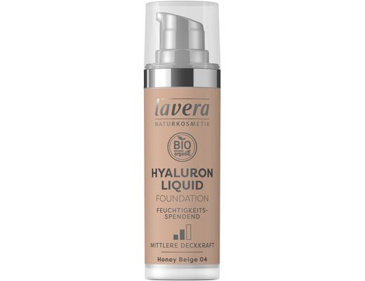 Lavera Hyaluron Liquid farði 30 ml. #04 Honey Beige