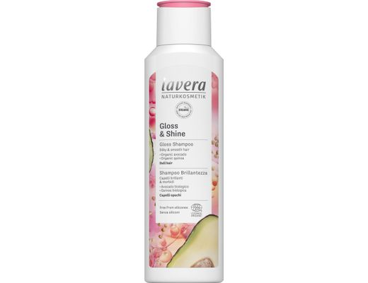 Lavera Gloss & Shine sjampó 250 ml.