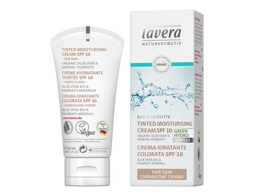 Lavera Tinted Moisturising dagkrem 50 ml.  #light