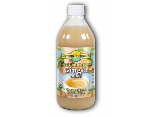 Dynamic Health Engifer Juice 100% 473 ml.