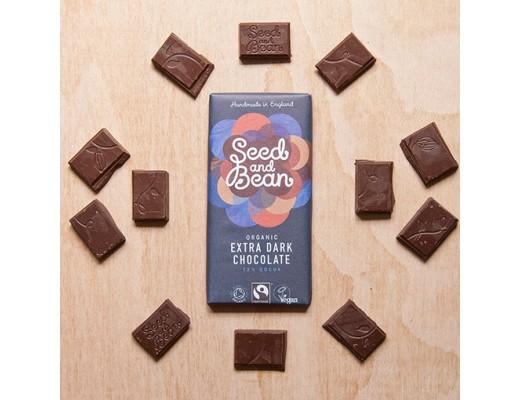 Seed & Bean Extra dark súkkulaði 72%