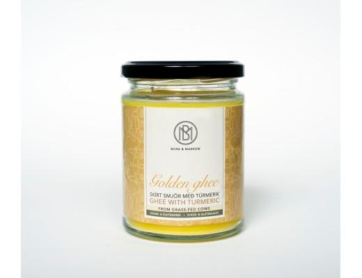 Golden Ghee Skírt smjör með túrmerik 220 gr.