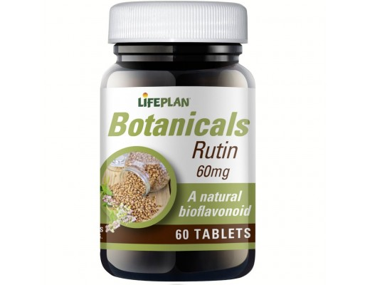 Lifeplan Botonicals Rutin  60mg 60 töflur