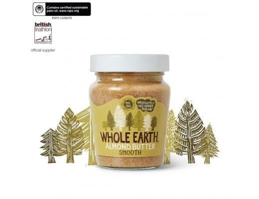 Whole Earth möndlusmjör (Smooth) 227gr.