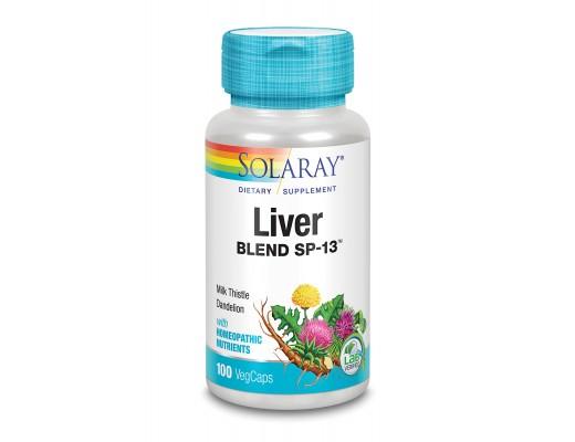 Solaray Liver Blend SP-13, 100 hylki